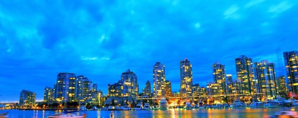 温哥华夜景